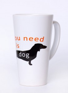 ALL YOU NEED IS DOG - KUBEK LATTE